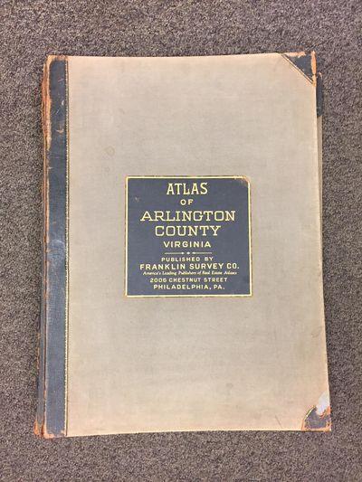 Philadelphia PA: Franklin Survey Company, 1943. First Edition. Hardcover. Elephant Folio; VG-; Three...