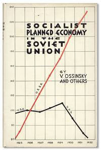 Socialist Planned Economy in the Soviet Union by  et al  V. - First American Edition - 1932 - from Lorne Bair Rare Books (SKU: 31392)