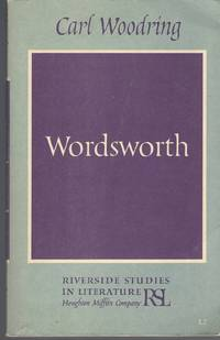 Wordsworth: Riverside Studies In Literature