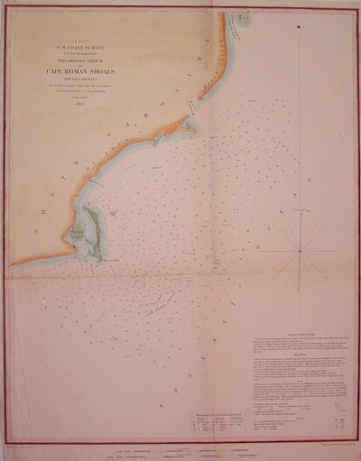 1853. unbound. very good(+). Map. Engraving with hand coloring. Image measures 16.75