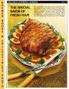 image of McCall's Cooking School Recipe Card: Meat 16 - Roast Fresh Ham With  Apricot Stuffing (Replacement McCall's Recipage or Recipe Card For 3-Ring  Binders)