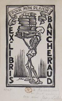 image of Bookplate: Pour Mon Plaisir ex Libris Bancheraud