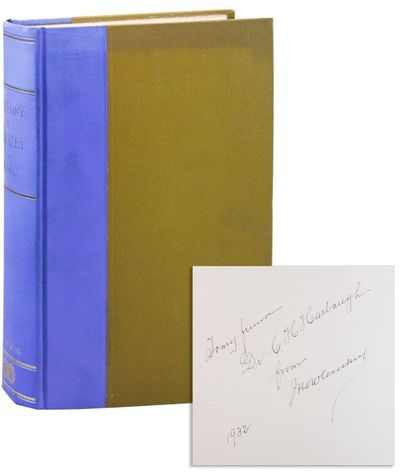 Philadelphia: F.A. Davis Company, 1929. First Edition. Hardcover. First Printing. Large, thick octav...