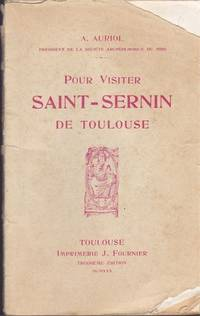 image of 1930 Vintage French Guide Book Pour Visiter Saint-Sernin De Toulouse