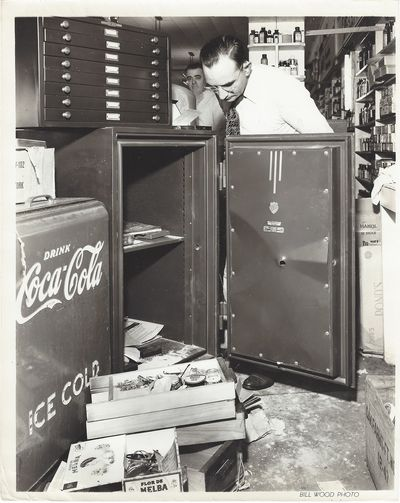 Fort Worth, TX: Bill Wood Photo Co, 1948. Black and white photograph with minor wear. Photograph of ...