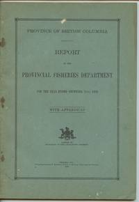 image of Province of British Columbia Report of the Commissioner of Fisheries For the Year Ending December 31st, 1939 With Appendices