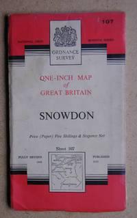 Snowdon. Seventh Series. Sheet 107. by Folding Map - 1953 - from N. G. Lawrie Books. (SKU: 39654)