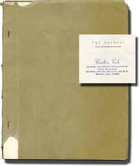image of The Nabob Affair [Au Voleur] (Original screenplay for the 1960 film)