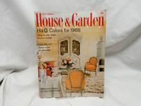 September 1967 House & Garden Magazine Colors for 1968