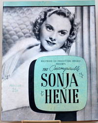 image of MISS SONJA HENIE WITH HER HOLLYWOOD ICE REVIEW