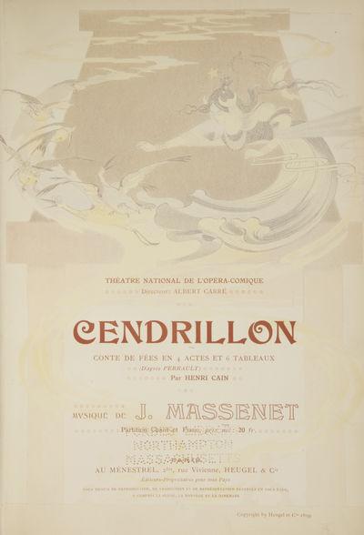 Paris: Au Ménestrel, Heugel & Cie. , 1891. Large octavo. Quarter dark brown morocco with mid-brown ...