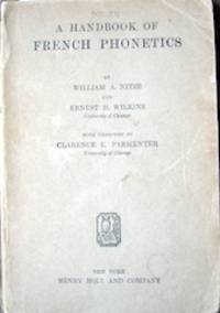 Handbook of French Phonetics with Exercises by Clarence E. Parmente