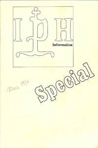IPH Information Special, Mars 1980. 15th International Congress of Paper  Historians. 15....