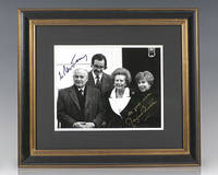 Margaret Thatcher and Mikhail Gorbachev Signed Photograph.