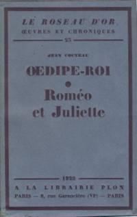 Oedipe-Roi suivi de Roméo et Juliette