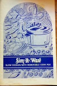 SIM R WARE, SLOW COOKER WITH REMOVABLE COOK POT