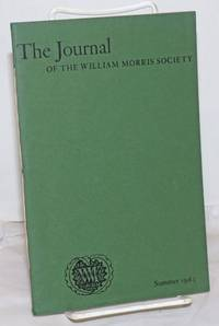 image of The Journal: of the William Morris Society, Volume 1, Number 3, Summer 1963