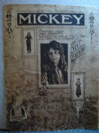 "Mickey Adapted from Mack Sennett's 500,000 Photoply ""Mickey"" by  Neil  Harry; Moret - 1938 - from Hammonds Books  and Biblio.co.uk"