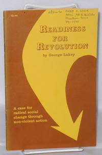 image of Readiness for Revolution: 1971 Rufus Jones Lecture