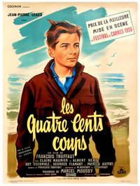The 400 Blows (Original French poster for the 1959 film)