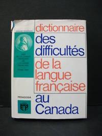 Dictionnaire des difficulties de la langue francaise au Canada
