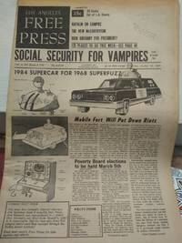 Los Angeles Free Press vol 4  47 Issue # 175 Dec 1-7, 1967