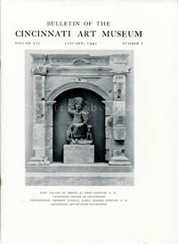 Bulletin of the Cincinnati Art Museum, Volume XII, Number 1,  January 1941