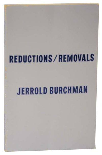 Los Angeles, CA: Jerrold Burchman -Cunningham Press, 1970. First edition. Softcover. A self publishe...
