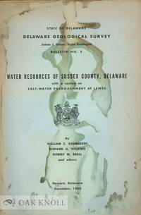 WATER RESOURCES OF SUSSEX COUNTY, DELAWARE WITH A SECTION ON SALT-WATE