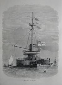 image of Stern View of H.M.S. Thunderer.