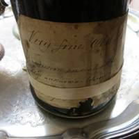 A Bottle of Wine From the Cellarof a Founding Father, theFirstMan Who Held the Title President of the United States Acquired from the direct descendants of John Hanson, giving a continuous provenance to date.