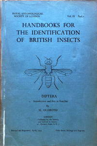 Diptera: introduction and key to families by  H Oldroyd - Handbooks for the identification of British Insects vol. 9 part  - 1954 - from Acanthophyllum Books (SKU: 9151)