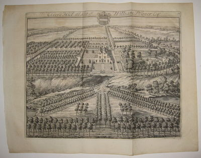London. unbound. very good. Leonard Knyff. View. Uncolored copper plate engraving. Page measures 16 ...