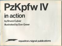 PzKpfw IV in Action by  Bruce CULVER - Paperback - First Edition - 1975 - from Between the Covers- Rare Books, Inc. ABAA and Biblio.co.uk