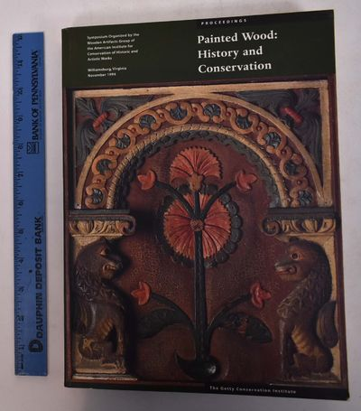 Los Angeles: The Getty Conservation Institute, 1994. Softcover. VG, exlib with stamp to ffep. Green ...