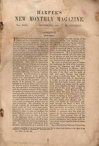 Harper's New Monthly Magazine September 1885