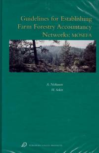 image of Guidelines for Establishing Farm Forestry Accountancy Networks: MOSEFA