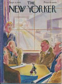 The New Yorker: September 15, 1945