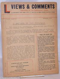 image of Views & Comments. No. 18, November 1956