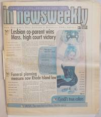 image of In Newsweekly: New England's Gay, Lesbian & Bisexual News Source; vol. 8, #46, July 14, 1999; Cyndi Lauper's True Colors