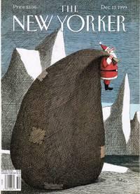 image of NEW YORKER: COVER: SANTA's BIG BAG, FRANCO MATTICCHIO