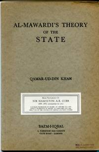 Al-Mawardi's Theory of the State