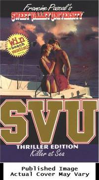 Killer at Sea (Sweet Valley University(R)) by Pascal, Francine - 1997-06-09 Spine Wear, Cover Edg