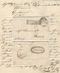Letter from Frederic de Graft, a Baltimore Merchant, to Mess. Clossmann, a wine merchant in Bordeaux