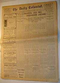 The (Victoria, British Columbia) Daily Colonist Newspaper: Sunday, October 16, 1904 Issue by  Multiple Contributors - Paperback - First Edition - 1904 - from RareNonFiction.com and Biblio.com