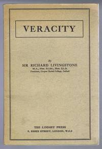 Veracity, The Essex Hall Lecture, 1937