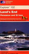 image of Land's End, Penzance and St Ives (Explorer Maps)