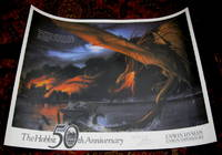 The Hobbit 50th Anniversary Limited Edition Poster, Signed By Artist, John Howe