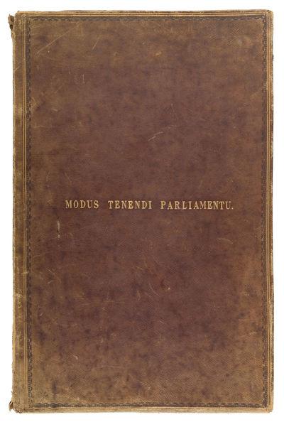 1630. . . Pre-Publication Manuscript Copy of a Classic Manual on Parliamentary Procedure Elsynge, He...