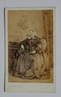 Carte De Visite Photograph: Portrait of a Seated Elderly Woman. by J. Berra - from N. G. Lawrie Books. (SKU: 47910)